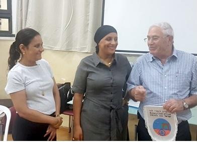 """מועדון רוטרי לוד אורח מתנ""""ס שיקאגו"""