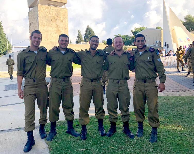 חמישה לוחמים מלוד הצטרפו לגבעתי