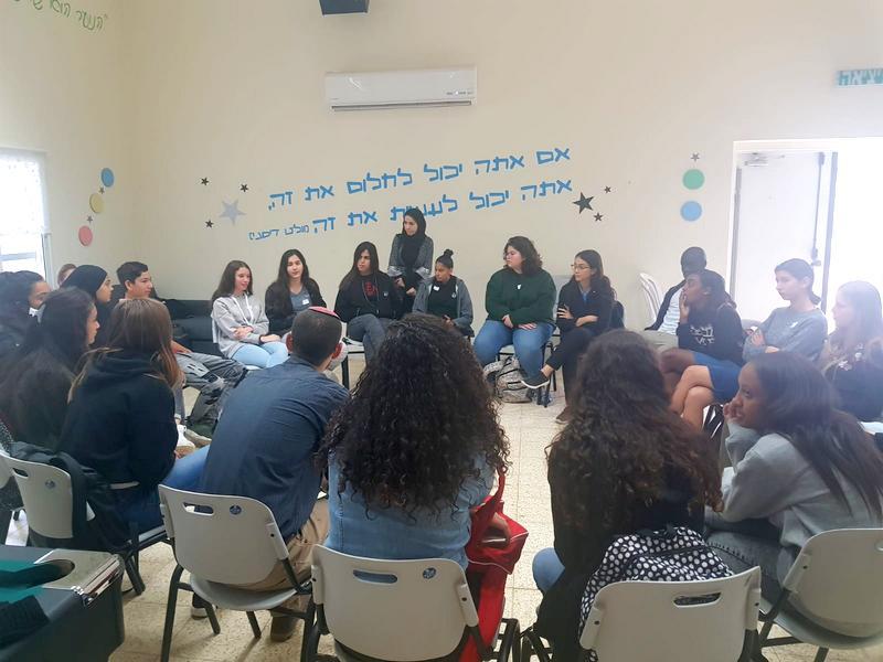 כינוס בנושא מנהיגות לנציגי מועצות התלמידים בלוד