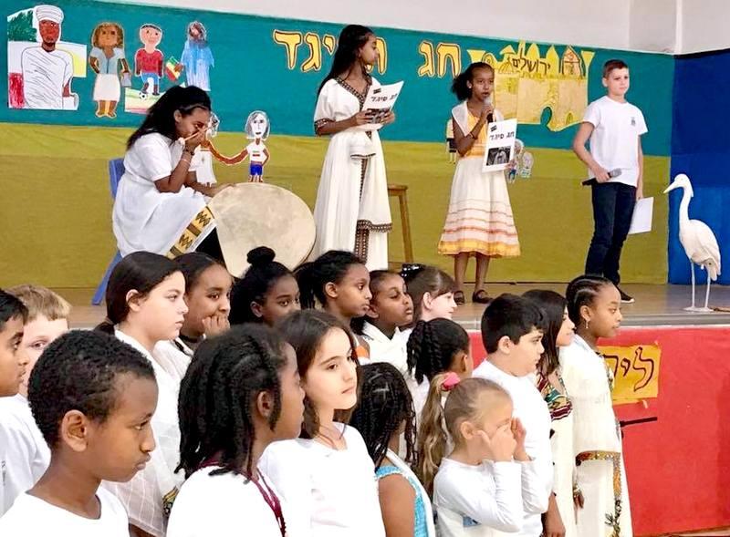 תלמידי לוי אשכול חגגו את חג הסיגד