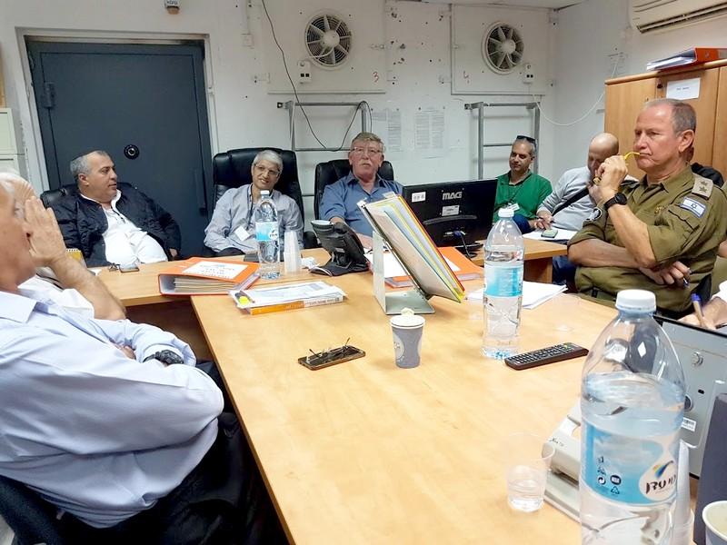 בדיקת כשירותה ומוכנותה של עיריית לוד בעת חירום