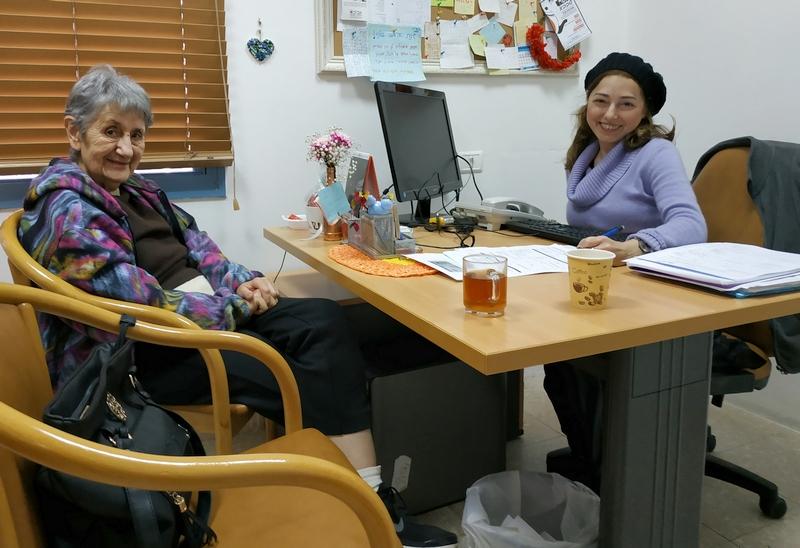 """""""נקודת זכות"""" - שירות חדש לניצולי שואה תושבי לוד"""