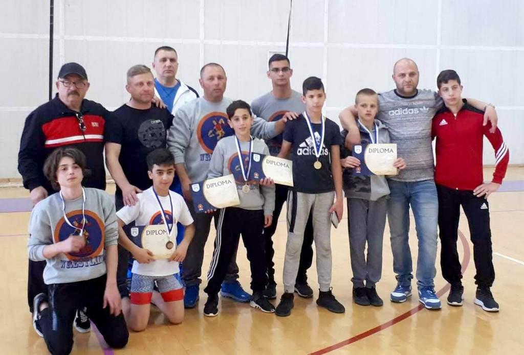 חניכי מועדון האבקות לוד מנצחים באליפות ישראל