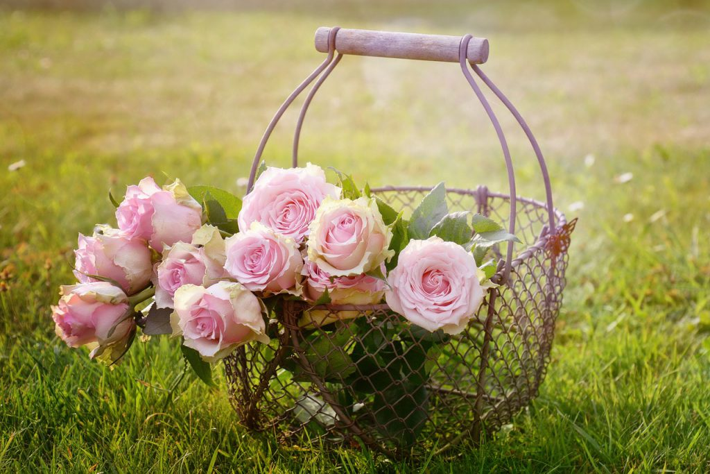 זרי ורדים רומנטיים