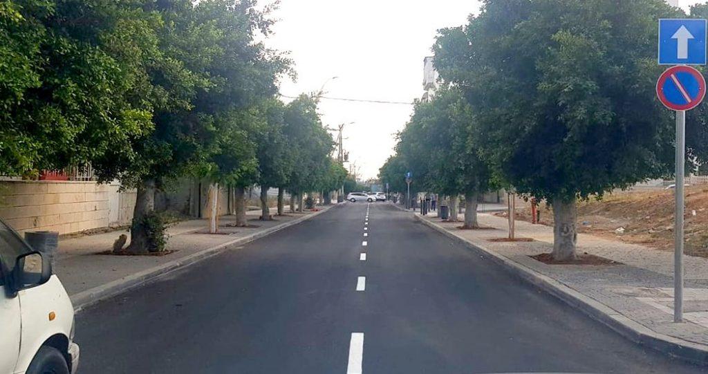 רחוב הרצל המחודש בלוד שוב בתנועה