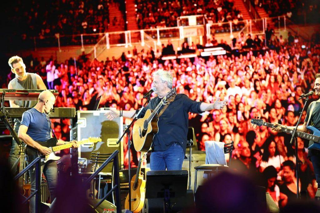 שלמה ארצי חגג 50 שנה על הבמה בהופעת ענק באצטדיון העירוני בלוד