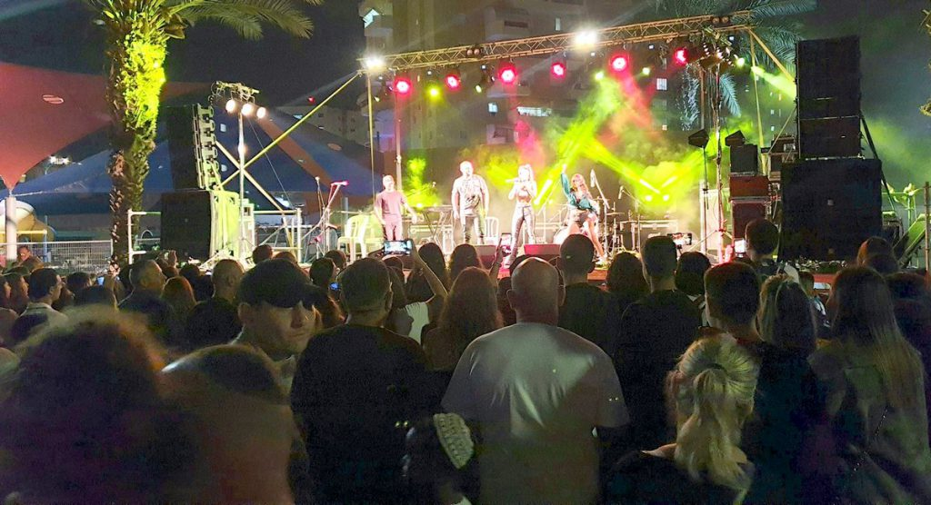 היוטיוברים המובילים בארץ סגרו את אירועי חגי תשרי בלוד