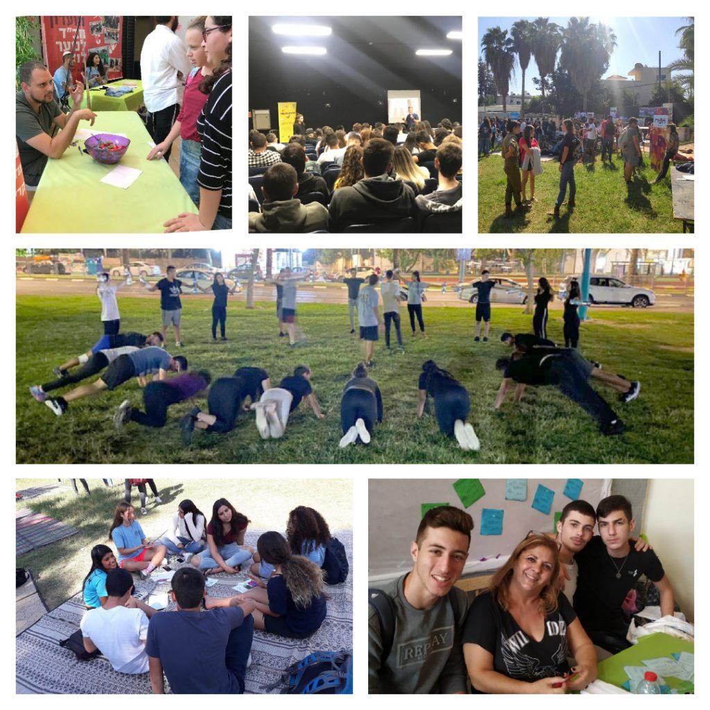 מפתחים מנהיגות ומעורבות חברתית בקרב בני הנוער בלוד
