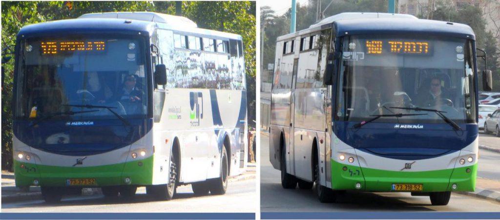שיפורים בקווי התחבורה הציבורית בלוד