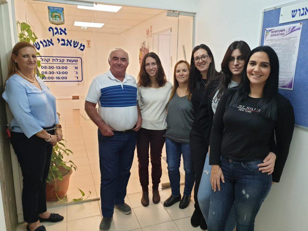 גאוות יחידה וכבוד לעבוד בעיריית לוד
