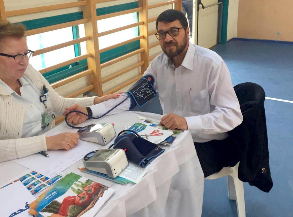 הפנינג 'יום בריאות' במגזר הערבי בלוד