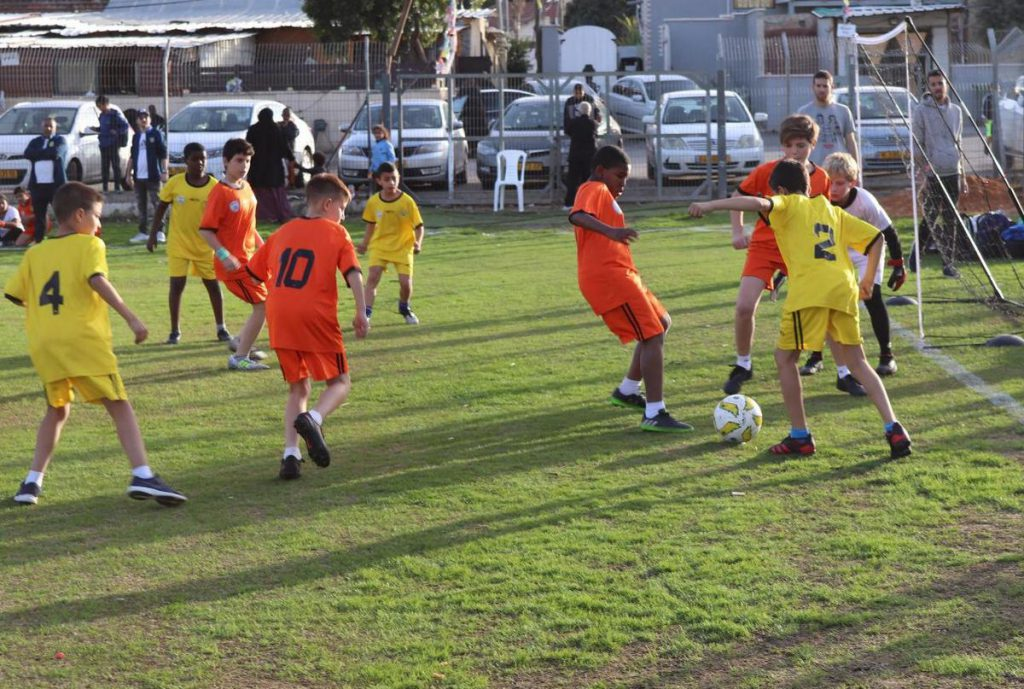 בטורניר הכדורגל המרתק שנערך במגרש הרכבת בלוד
